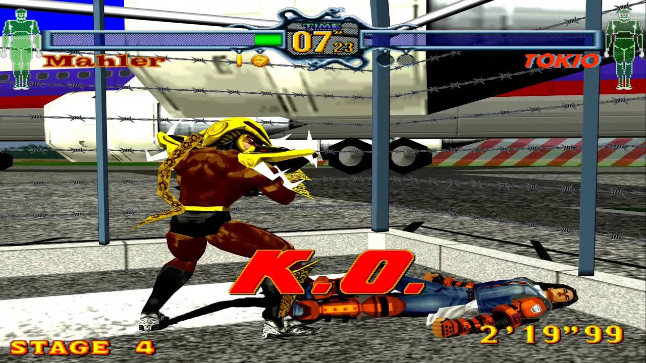 Classic Game Fighting Vipers Xbox Live Arcade Game Youtube