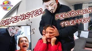 GAME MASTER SCHNAPPT PLÖTZLICH  ZU 👽👺 - Persönliche Begegnung Zuhause - Family Fun