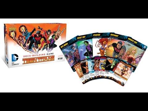 Robs Rogues 278 - DC Comics Teen Titans - Deck Building Game - Cryptozoic Entertainment