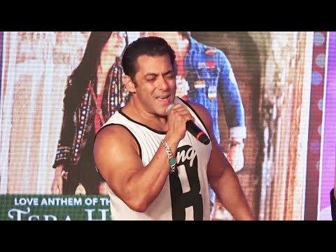 Salman Khan ने गाया Mein Hu Hero Tera गाना -  Loveyatri Musical Concert