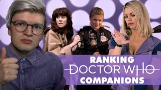 Ranking Doctor Who Companions because i'm mean (satire)