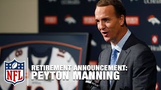 "Peyton Manning: ""18 is a Good Number & Today, I Retire from Pro Football"" 