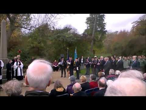 Remembrance Day in Hampden Park. Nov 11th, 2015
