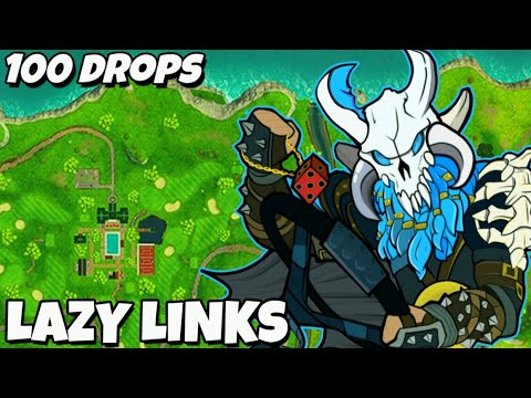 I Dropped Lazy Links 100 Times And This Is What Happened (Fortnite)