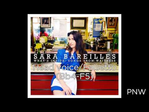 Sara Bareilles Vocal Range  -