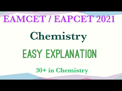 Download Eamcet 2021 Chemistry    Easy exaplanation 30+ marks 💯