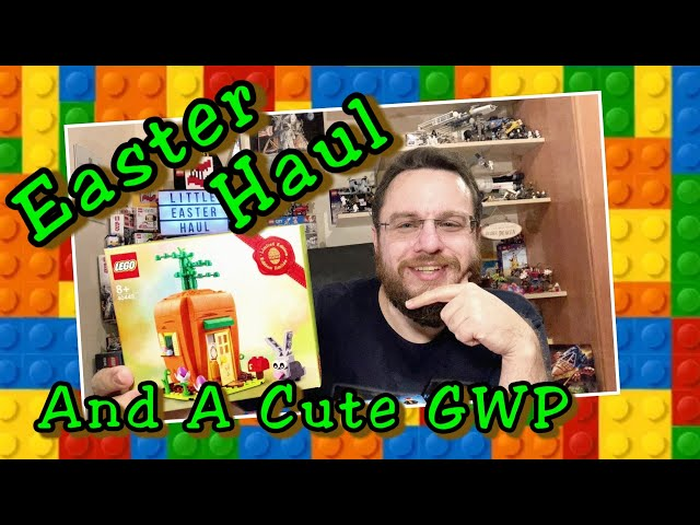Easter Haul 2021 And A Funny Gift With Purchase (Lego GWP 40449)
