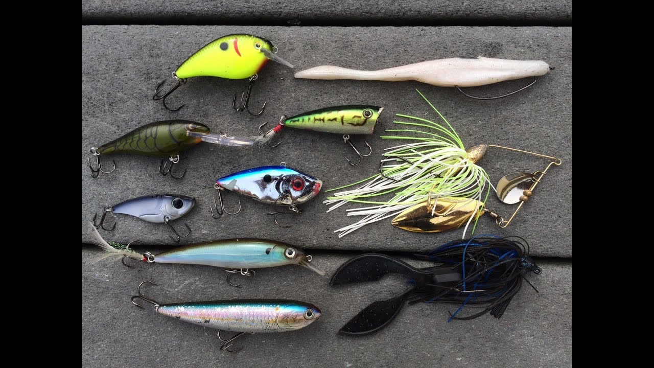 top 10 fall bass fishing lures by 1rod1reelfishing - youtube, Fishing Bait