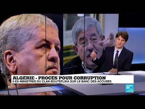 Algérie : 6 ex-ministres du clan Bouteflika sur le banc des accusés