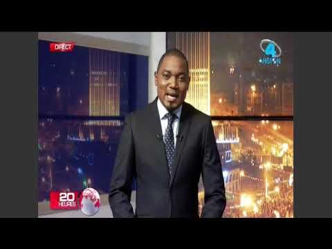 Le JT de 20H sur Vision4 Tv - La Vision de N'djamena
