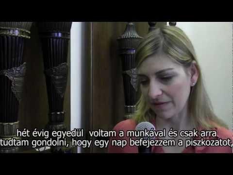 Julie Orringer a Debreceni Egyetemen