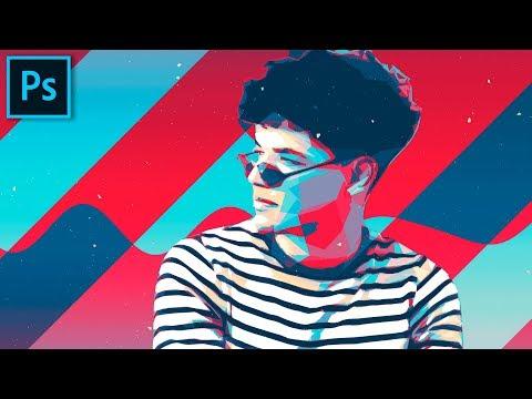 Экшен Ленивые художник 😀 Adobe Modern Artist - Photoshop Actions