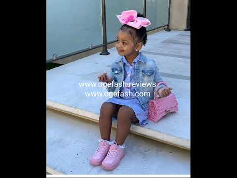 """Kulture Kiari, the daughter of rappers """"Offset & Cardi B"""" never goes out without a ..."""