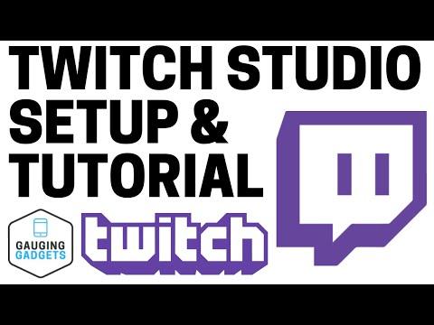 How To Start A Twitch Stream With Twitch Studio - Setup Tutorial