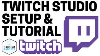 How To Start A Twitch Stream With Twitch Studio - Setup Tutorial screenshot 4