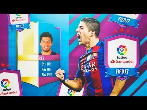 HAGO A LUIS SUAREZ SBC Y ME TOCA UNA LEYENDA IN A PACK!!!! | FIFA 17