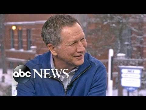 John Kasich on His Presidential Campaign in New Hampshire