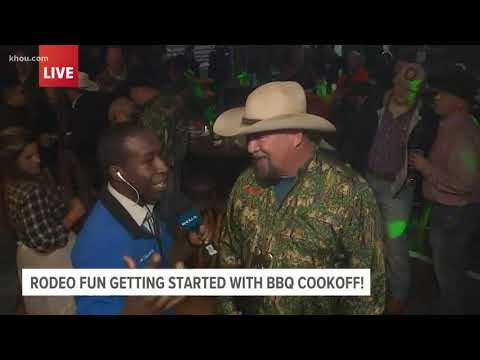 Rodeo Fun Gets Started With Barbecue Cookoff At NRG Park