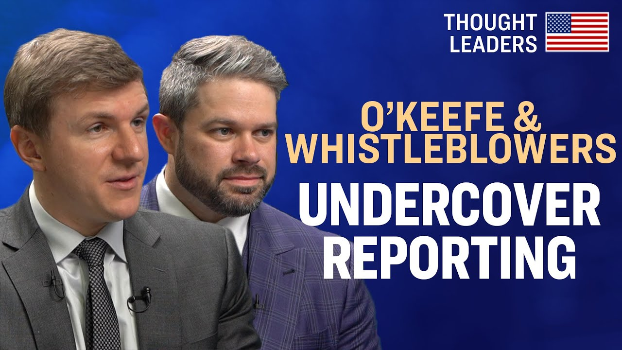 Two Project Veritas Whistleblowers On Why They Blew The Whistle on Pinterest, CNN—With James O'Keefe