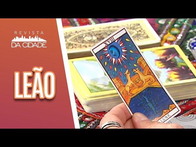 Previsão de Leão 23/07 a 22/08- Revista da Cidade (25/02/19)