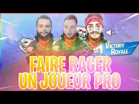 DEFI : FAIRE RAGER UN JOUEUR PRO !!!