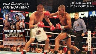 "Félix ""Tito"" Trinidad 🇵🇷 vs 🇺🇸🇲🇽 Fernando Vargas [02-12-2000] [WBA/IBF Sp. Welter] [Latino]"