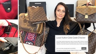 Louis Vuitton Date Code Checker + What do they mean and how to find it | Handbagholic