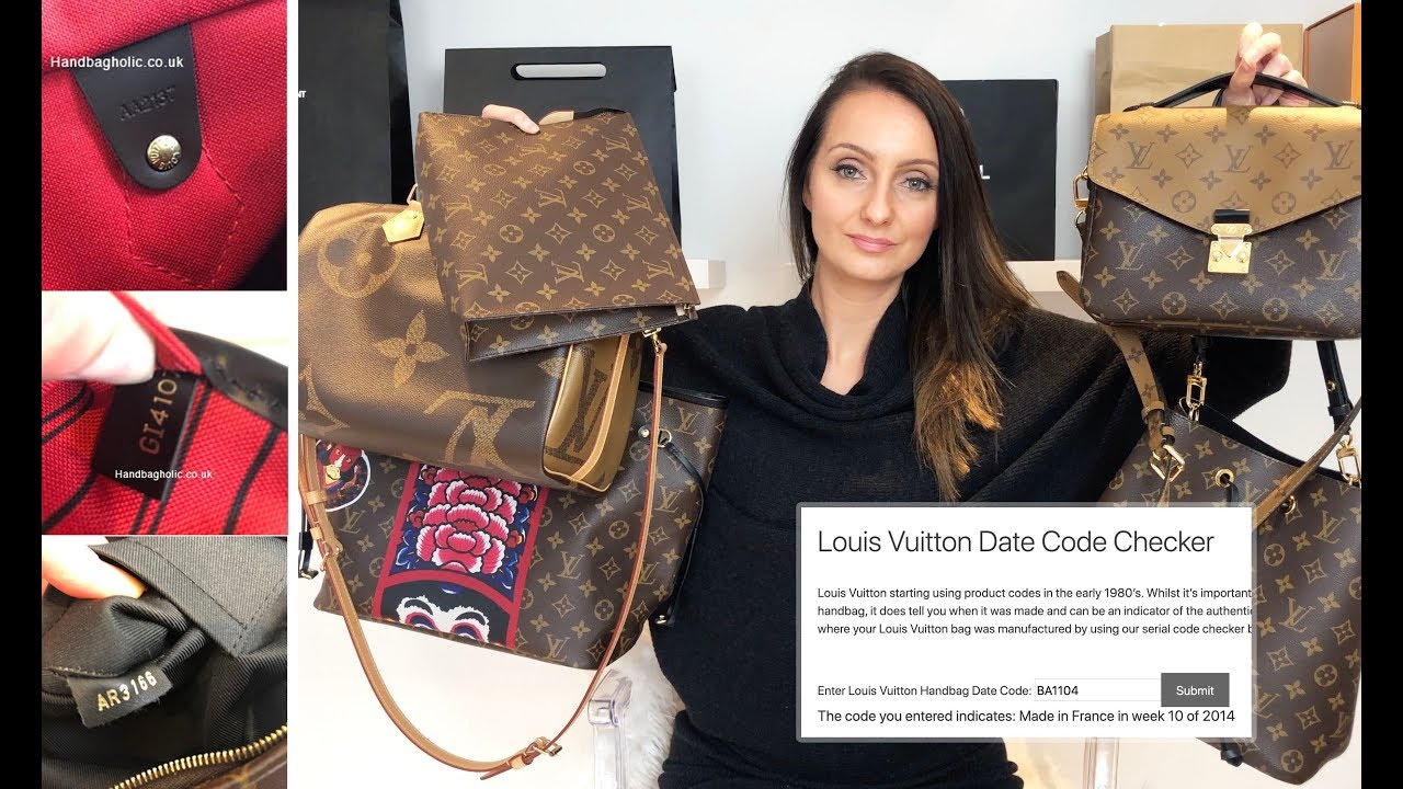 Louis Vuitton Date Code Checker What