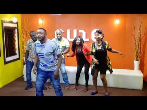 MC Galaxy Teaching Yemi Alade how to Dance Komolopcholop