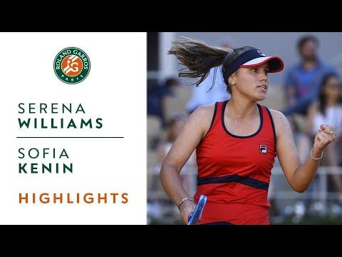 Serena Williams vs Sofia Kenin - Round 3 Highlights  Roland-Garros 2019