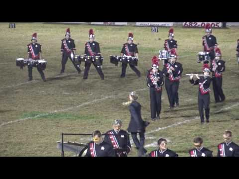 Point Pleasant High School (WV) Black Knight Marching Band Halftime 10/28/2016 Westside High School