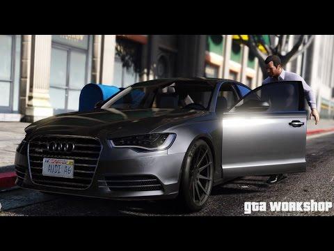 Gta V Mod Audi A6 C7 2014 Fast Drive Enb Pc 60 Fps