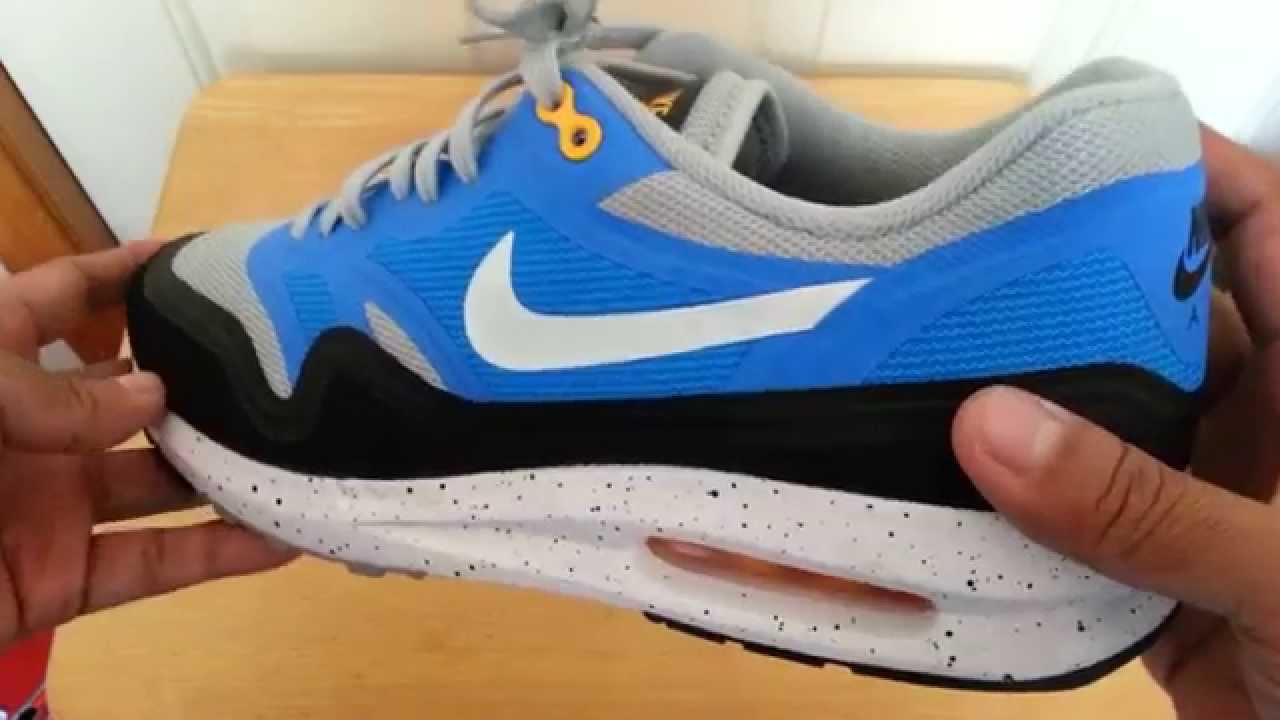 low priced 250fc 8fcc6 Unboxing Review Nike Air Max Lunar1 - YouTube
