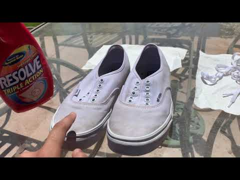 "How to Clean Your Dirty ""White"" Vans"