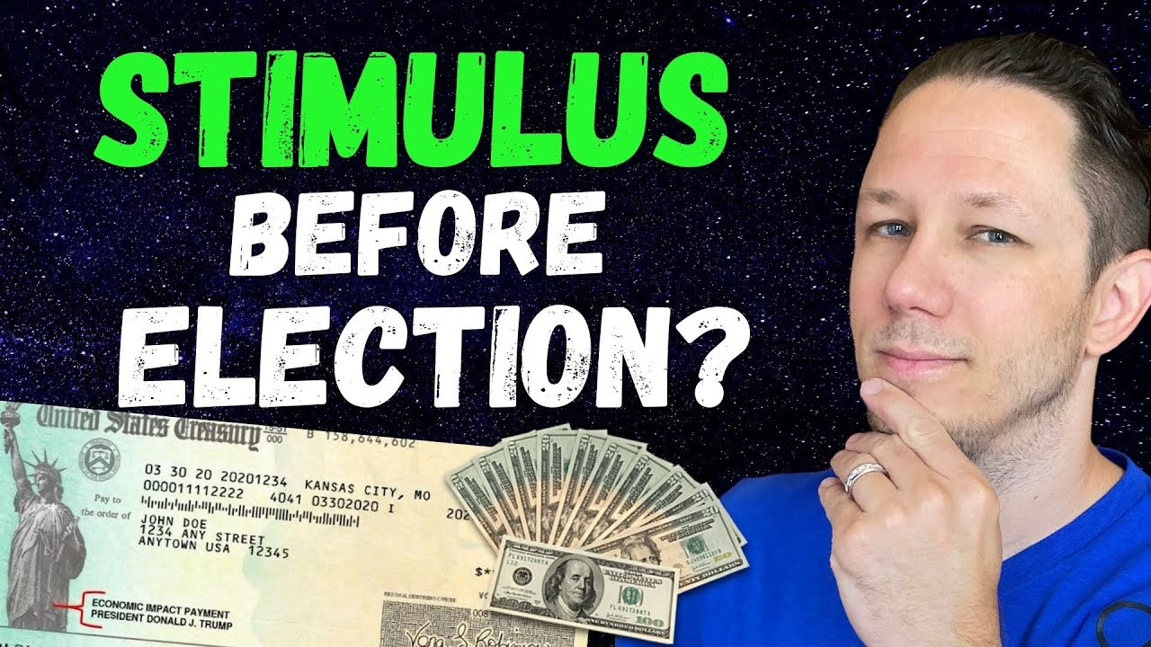 STIMULUS CHECKS Before Election - Second Stimulus Check Update Today!