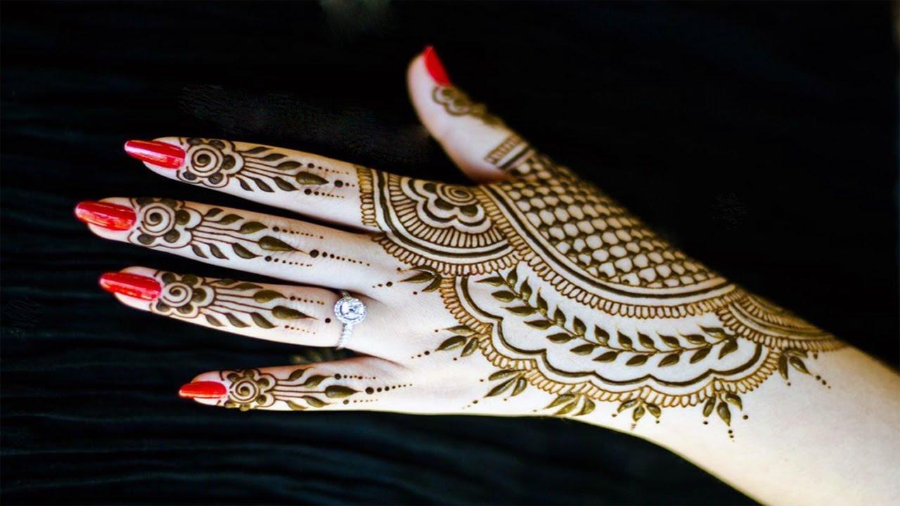 Mehndi Patterns For Little Girls : Finger mehndi design for little girls ·▭· · ··· you can get
