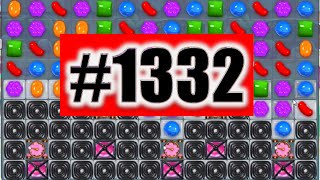 Candy Crush Saga Level 1332 NEW! | Complete!