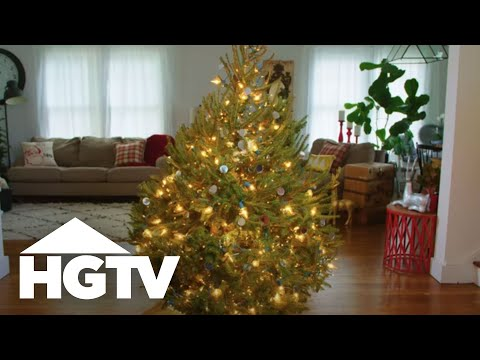 How To Light Your Christmas Tree Like A Pro Hgtv