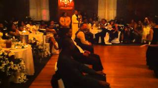 Cater to you dance performed by bride, mother of bride and close friend