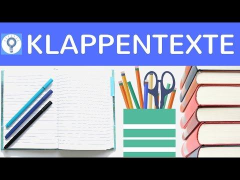 Wie schreibe ich einen Klappentext? Aufbau, Gliederung & Tipps einfach erklärt