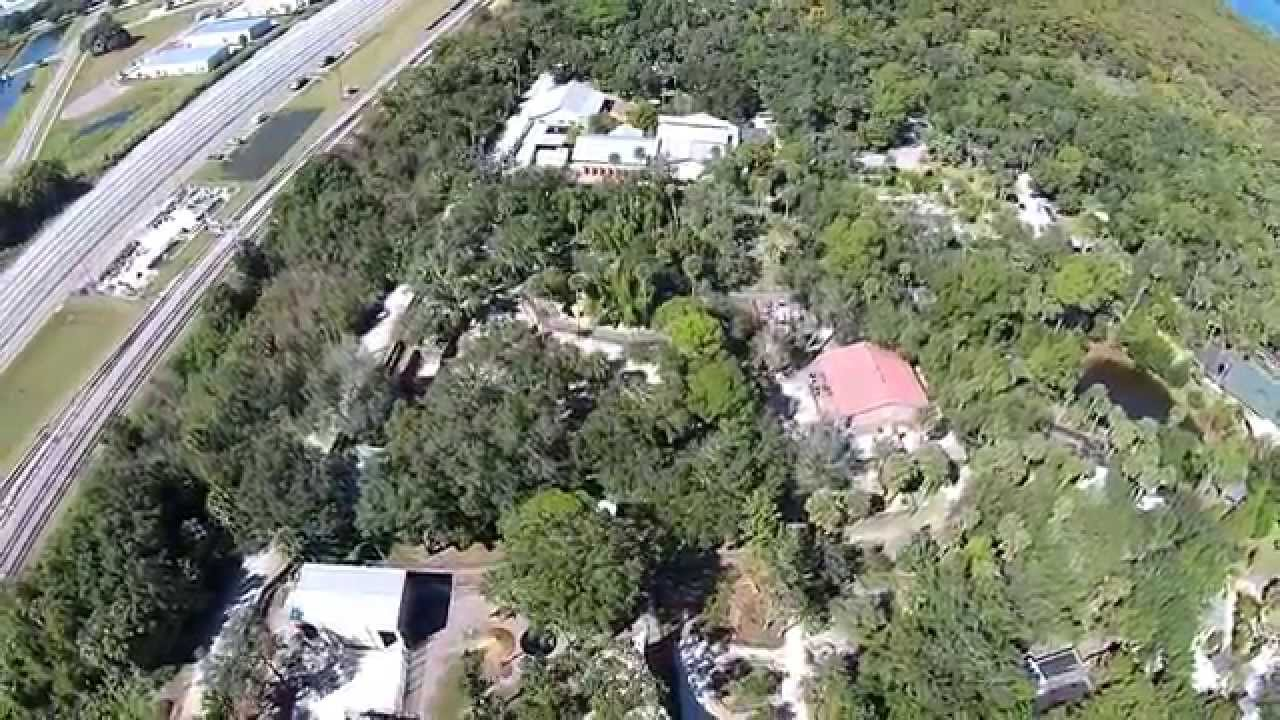 DJI Phantom 2 Vision Plus Over The Central Florida Zoo In Sanford