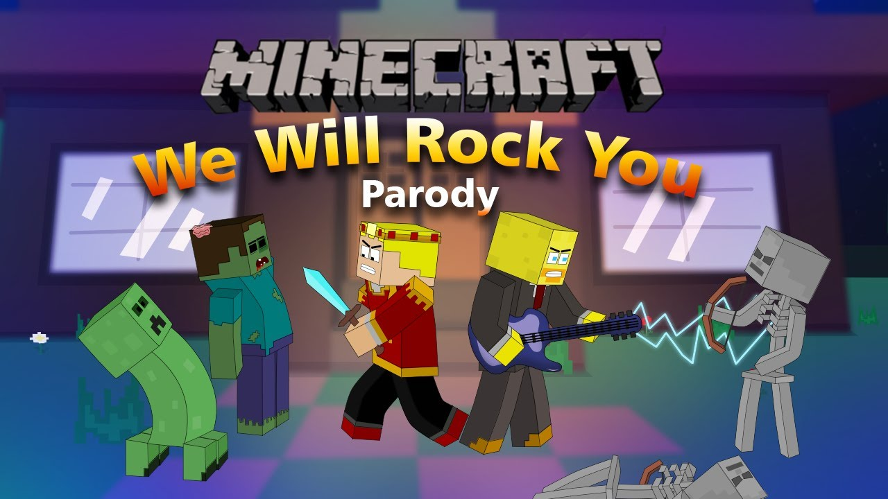 We Will Find You Minecraft Parody Of We Will Rock You By Queen Music Video Youtube