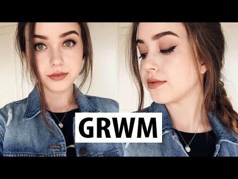 Chatty GRWM | Tartelette Palette + Mac Velvet Teddy | lindseyrem