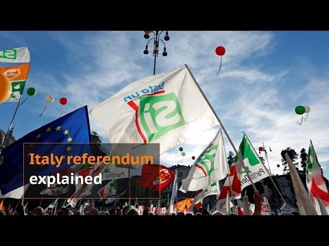 Italy referendum: What is at stake