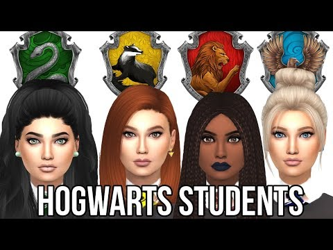 The Sims 4: Create A Sim || Hogwarts Students