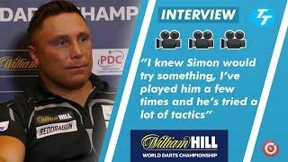 Gerwyn Price on Simon Whitlock TACTICS! |