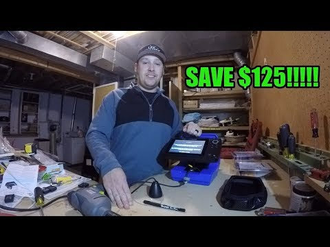 Humminbird Helix DIY Ice Fishing Setup