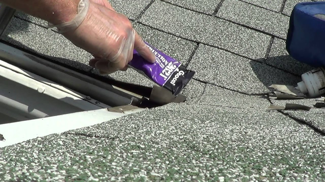 How To Access Gutter Toppers Repair Seam Seal Miter