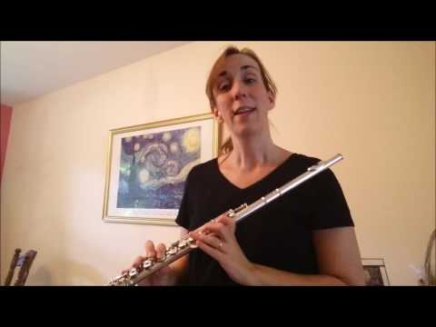 How to play Happy Birthday on the Flute