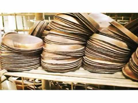 sc 1 st  YouTube & Arecanut Leaf Plate Manufacturing: The Making - YouTube